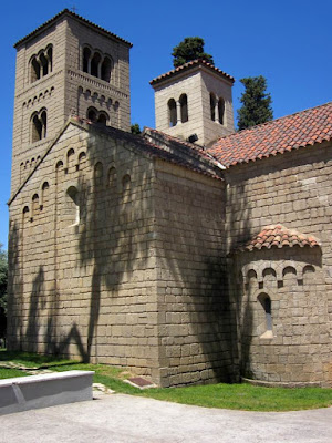 Romanesque monastery of Sant Miquel in The Poble Espanyol