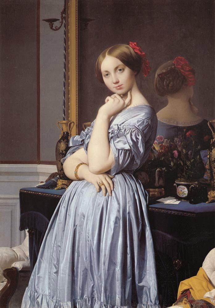 Albertine de Broglie - Ingres e suas principas pinturas ~ Neoclassicismo