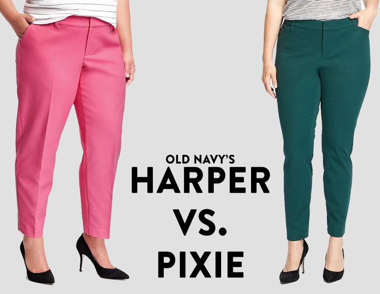 Reviews: Express Portofino Blouse & Old Navy Pixie Pants ...