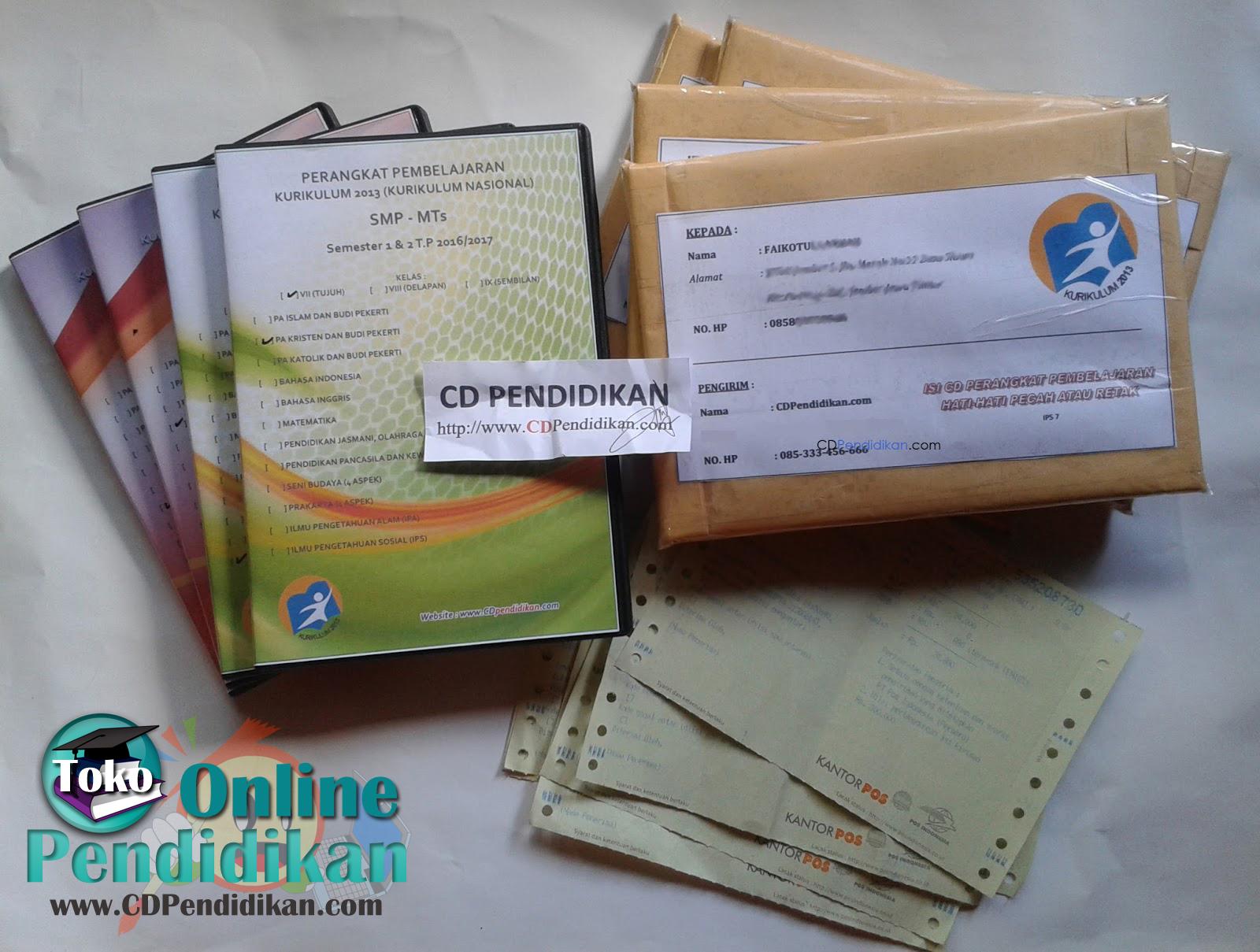 Bukti Paket RPP Kurikulum 2013