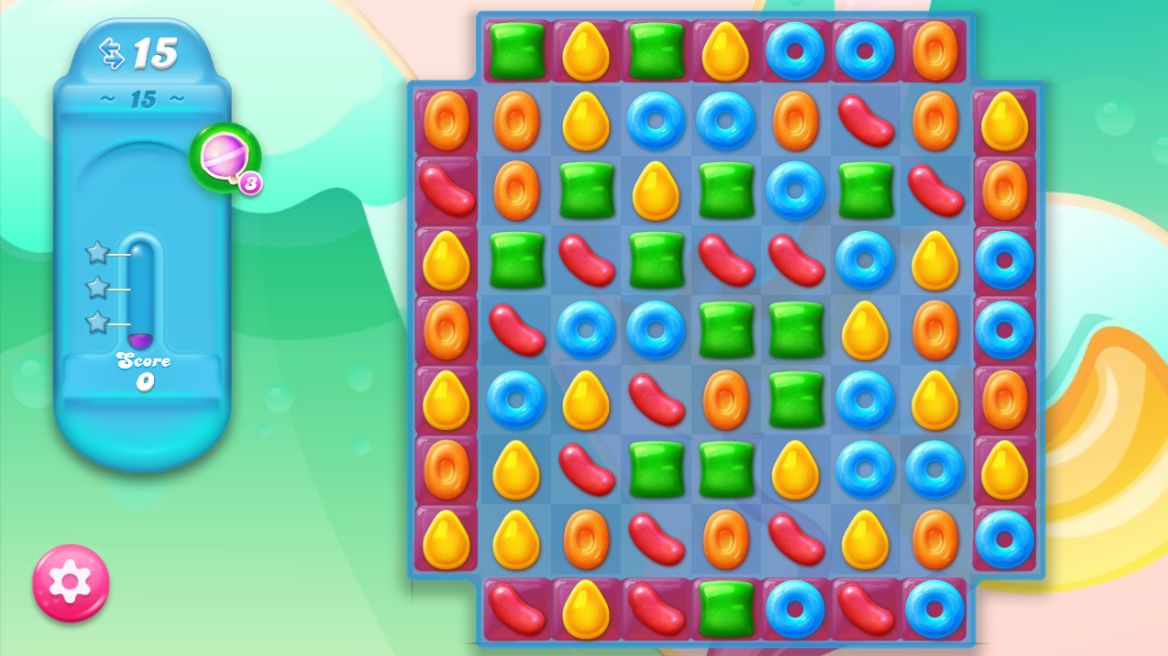 Candy Crush Jelly Saga saga 15