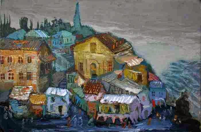 Из древнегрузинской истории. David Popiashvili