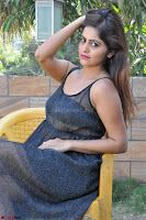 Pragya Nayan New Fresh Telugu Actress Stunning Transparent Black Deep neck Dress ~  Exclusive Galleries 045.jpg
