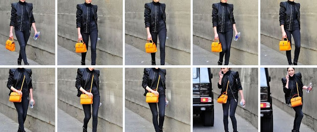 Orange Mini Uptown Satchel
