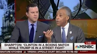 Sharpton Lectures Mrs. Clinton to 'Toughen Up' For A 'Street Fight' with Trump The 'Bully'