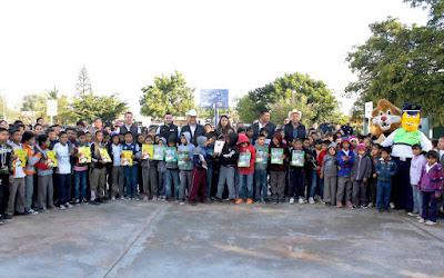Inaugura presidente municipal de Huatabampo el programa DARE