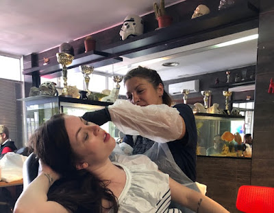 Red Dog Tattoos, Heart Outline Tattoo, Tattoo behind ear, Spain, Benalmadena, Getting inked, Girls with ink,