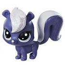Littlest Pet Shop Series 2 Sparkle Pets Amethyst Skunky (#2-S18) Pet