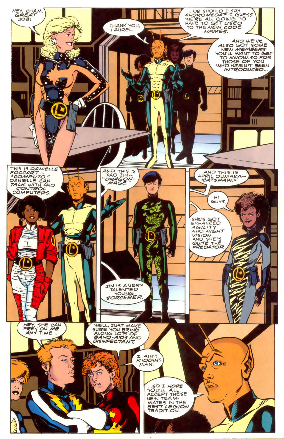 Legion of Super-Heroes (1989) 41 Page 22