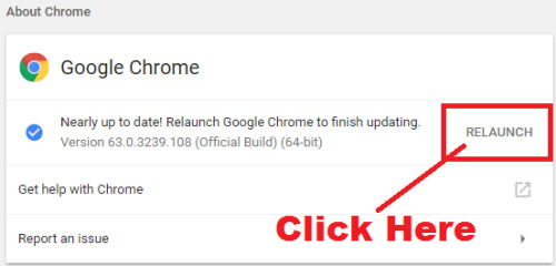 how to update google chrome step by step