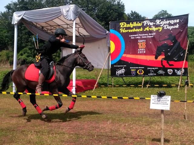 Horsebow Depok Perkenalkan Olahraga Panahan Berkuda
