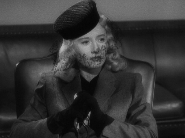 Cinema Connection--Winter Fashion 1940s Style a la DOUBLE INDEMNITY ... e5cf93706f1
