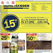 Rona Flyer Home & Garden Canada July 20 - 26, 2017