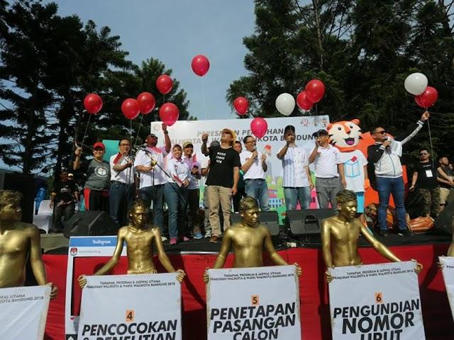 Jadwal Tahapan dan Proses Pilwalkot Bandung 2018