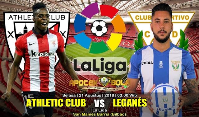 Prediksi Ath Bilbao vs Leganes 21 Agustus 2018