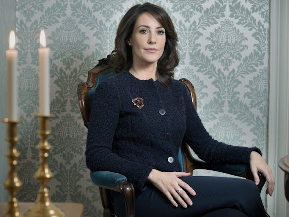 Princess Marie of Denmark has given an interview to Danish newspaper Jyllands Posten recently