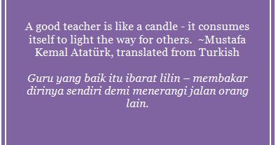 Kumpulan Kata Kata Mutiara Bahasa Inggris Guru Khursus