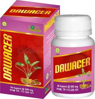 Jual obat Herbal Kanker dan Tumor Kapsul DAWACER CV Toga Nusantara di surabaya
