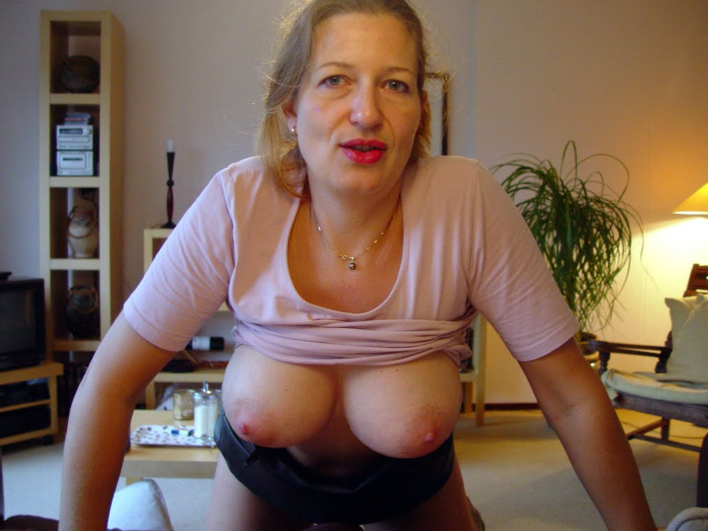 Big milf tits exposed