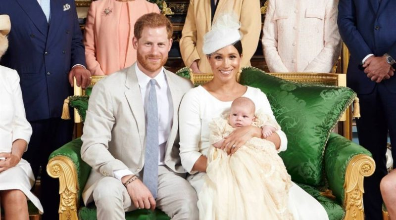 Here is Meghan's Sweet Gesture To Harry At Archie's Christening