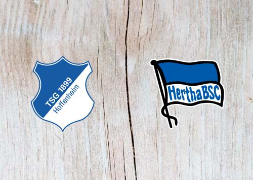 Hoffenheim vs Hertha Berlin - Highlights 14 April 2019