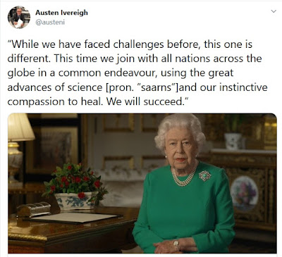 Ivereigh corrects the Queen