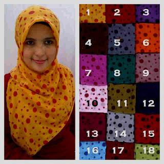 hijab paris motif