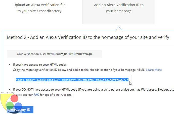 Cara mendaftar dan mengclaim blog ke alexa