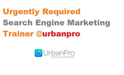 Urgently Required Search Engine Marketing Trainer
