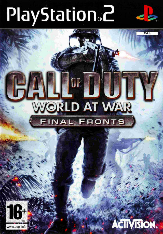 Call of Duty World at War Final Fronts PAL PS2