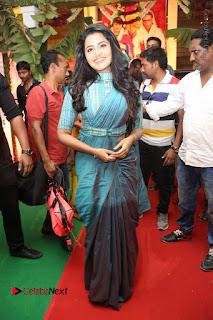 Actress Anupama Parameswaran Stills in Stylish Saree at Shatamanam Bhavathi Audio Launch  0057.JPG