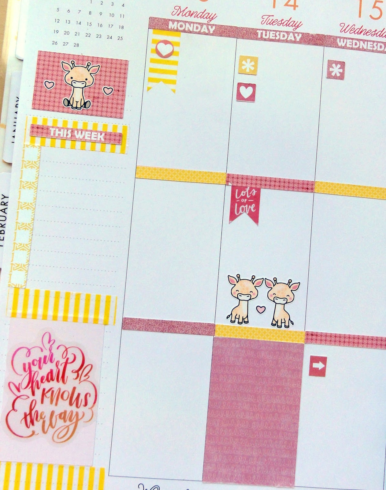 how to cut out pages for a happy planner