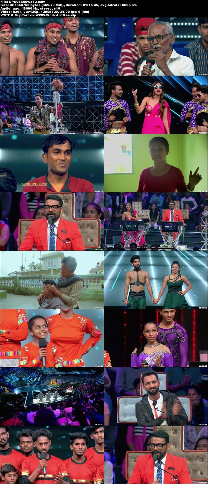 Dance Plus S4 21 October 2018 720p HDTV 350mb x264 world4ufree.vip tv show Dance Plus 4 2018 hindi tv show Dance Plus 4 2018 Season 4 Star Plus tv show compressed small size free download or watch online at world4ufree.vip