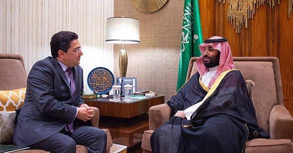 رسالة من الملك إلى ولي عهد المملكة العربية السعودية