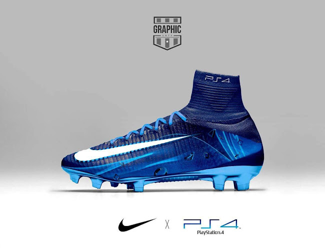 new products 281be bd972 Nike Mercurial Superfly PS4 New