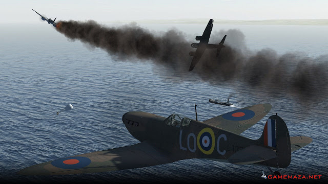 IL 2 Sturmovik Cliffs of Dover Gameplay Screenshot 1