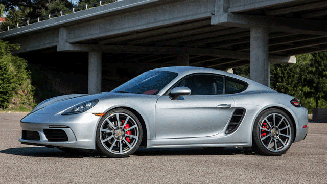 Porsche 718 Cayman - Top 10 new supercars under $100K