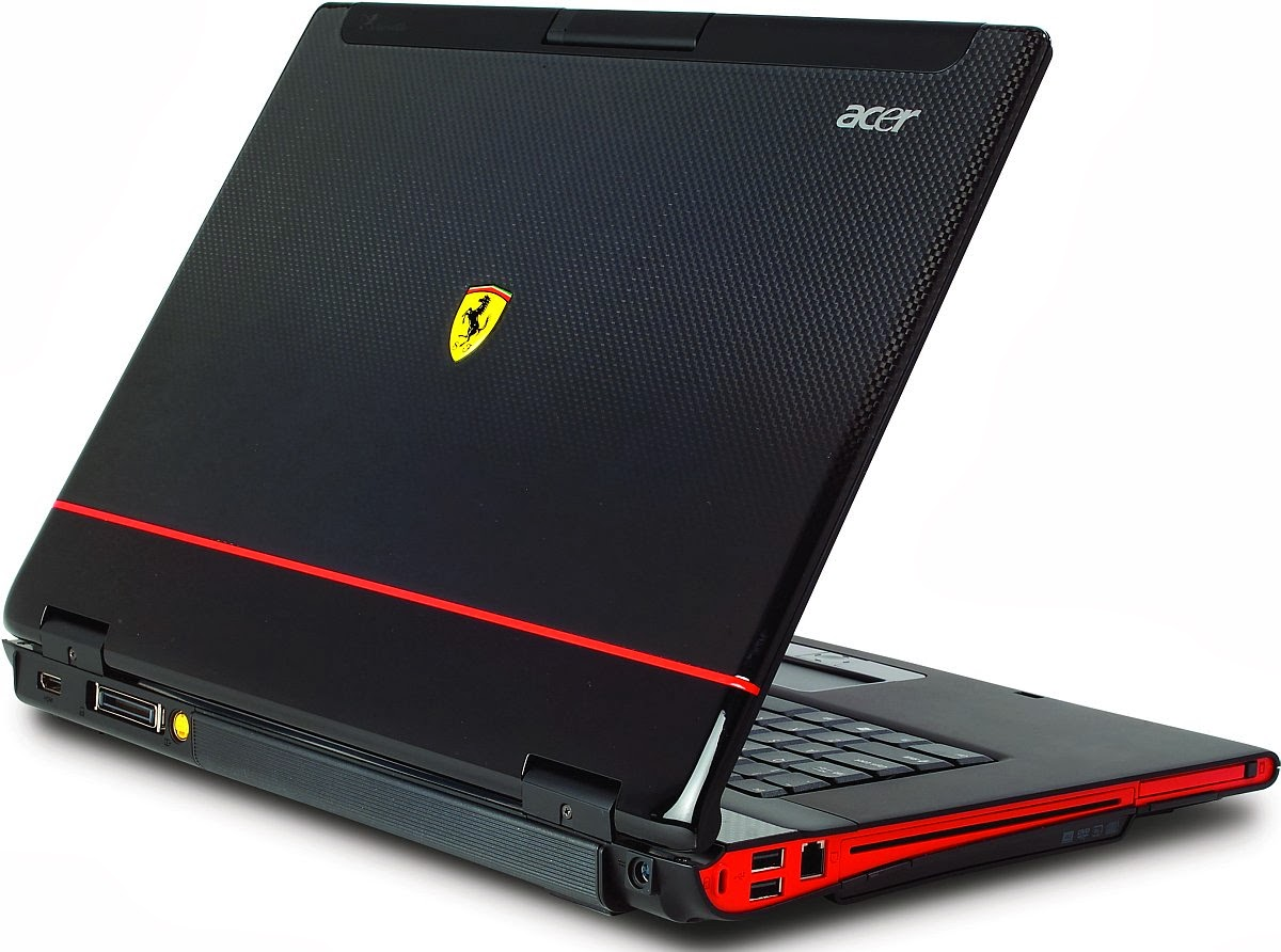 Acer Ferrari 5000 Notebook ATI UMA Display Windows Vista 64-BIT