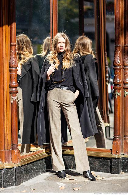 Actualizar el estilo con 55 años inspiración street style -Katherine Hepburn-