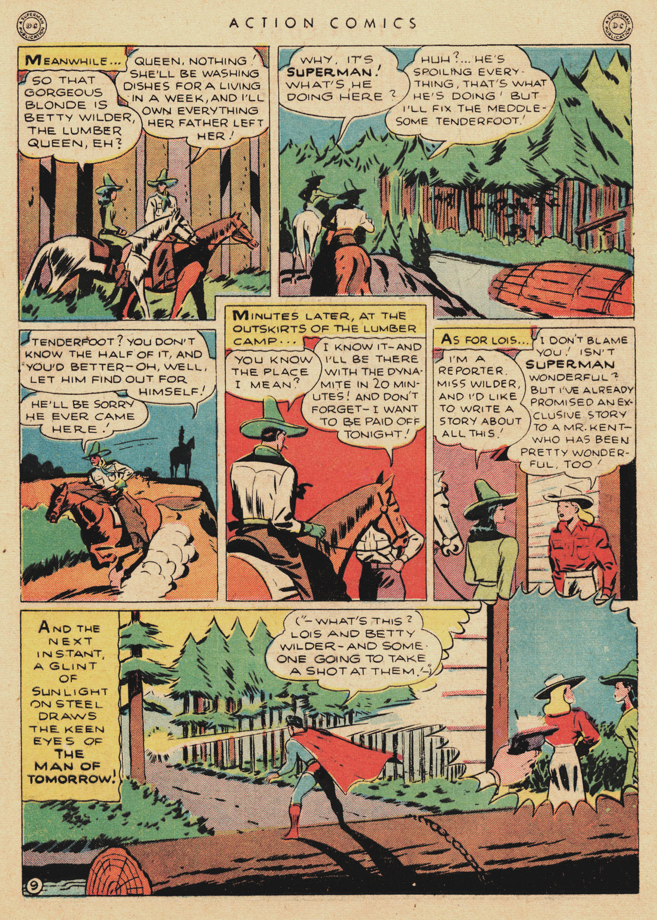Read online Action Comics (1938) comic -  Issue #94 - 11