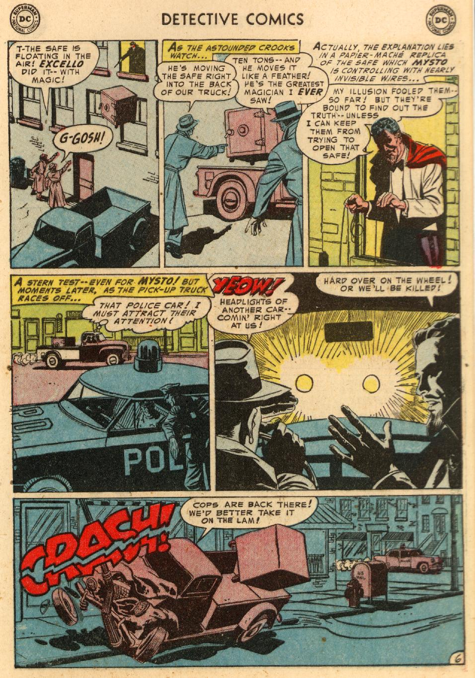 Read online Detective Comics (1937) comic -  Issue #207 - 33