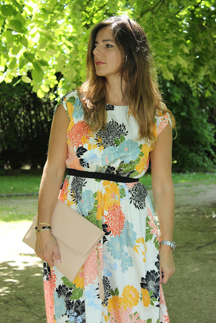 brise d'été, robe zara, pochette boohoo, les petites bulles de ma vie
