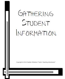 Gathering student information
