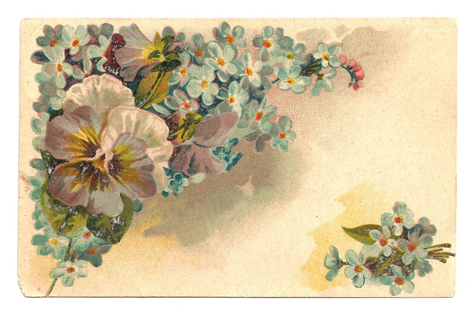 сельских открытки под старину цветы традиционно