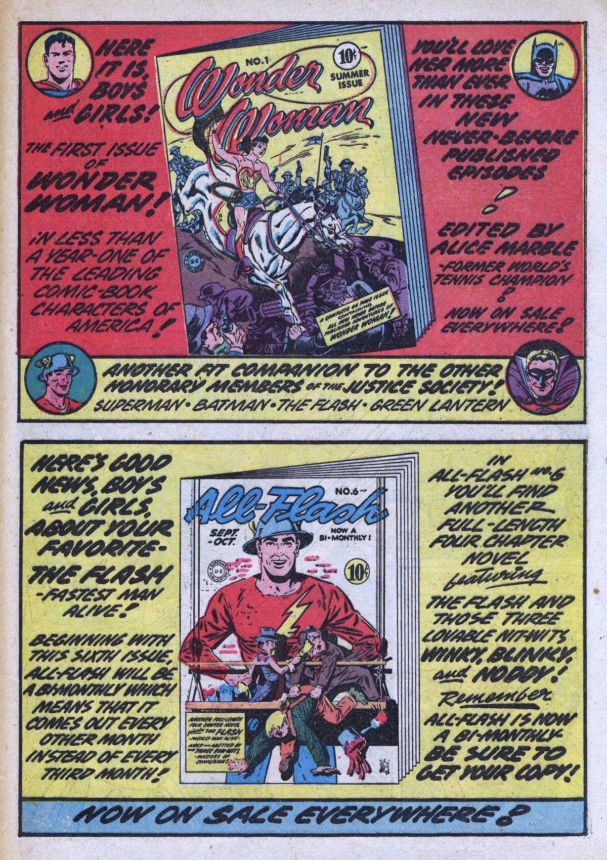 Read online All-Star Comics comic -  Issue #13 - 57