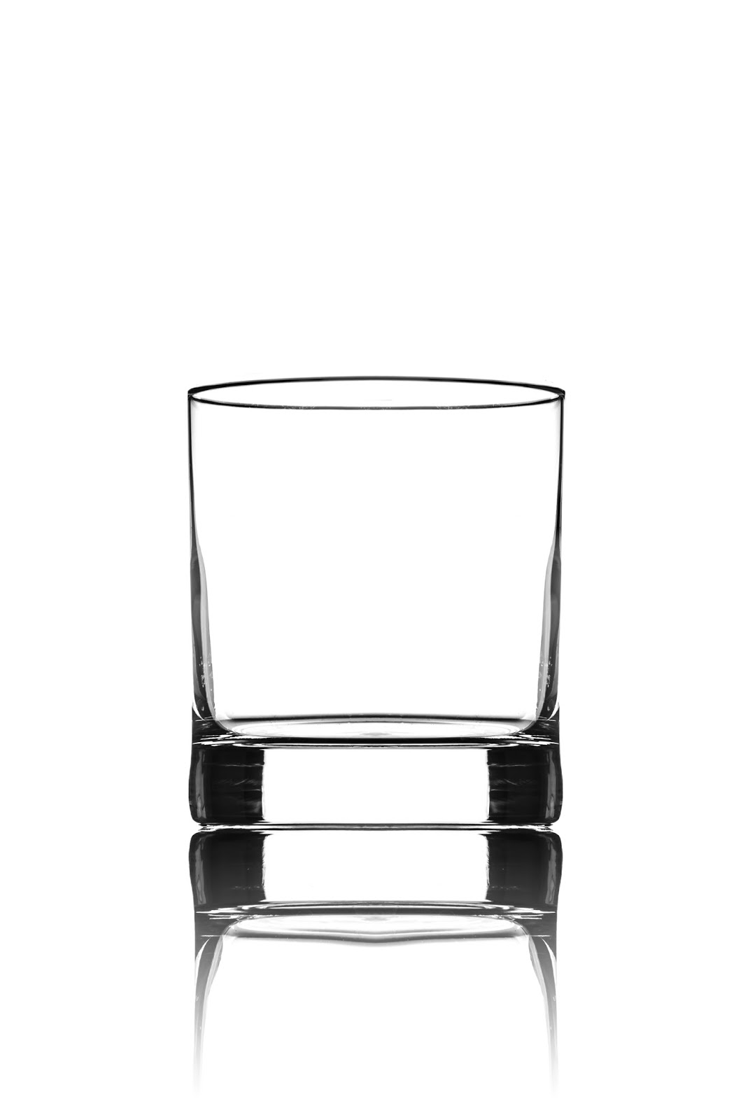 Съемка бокала для виски