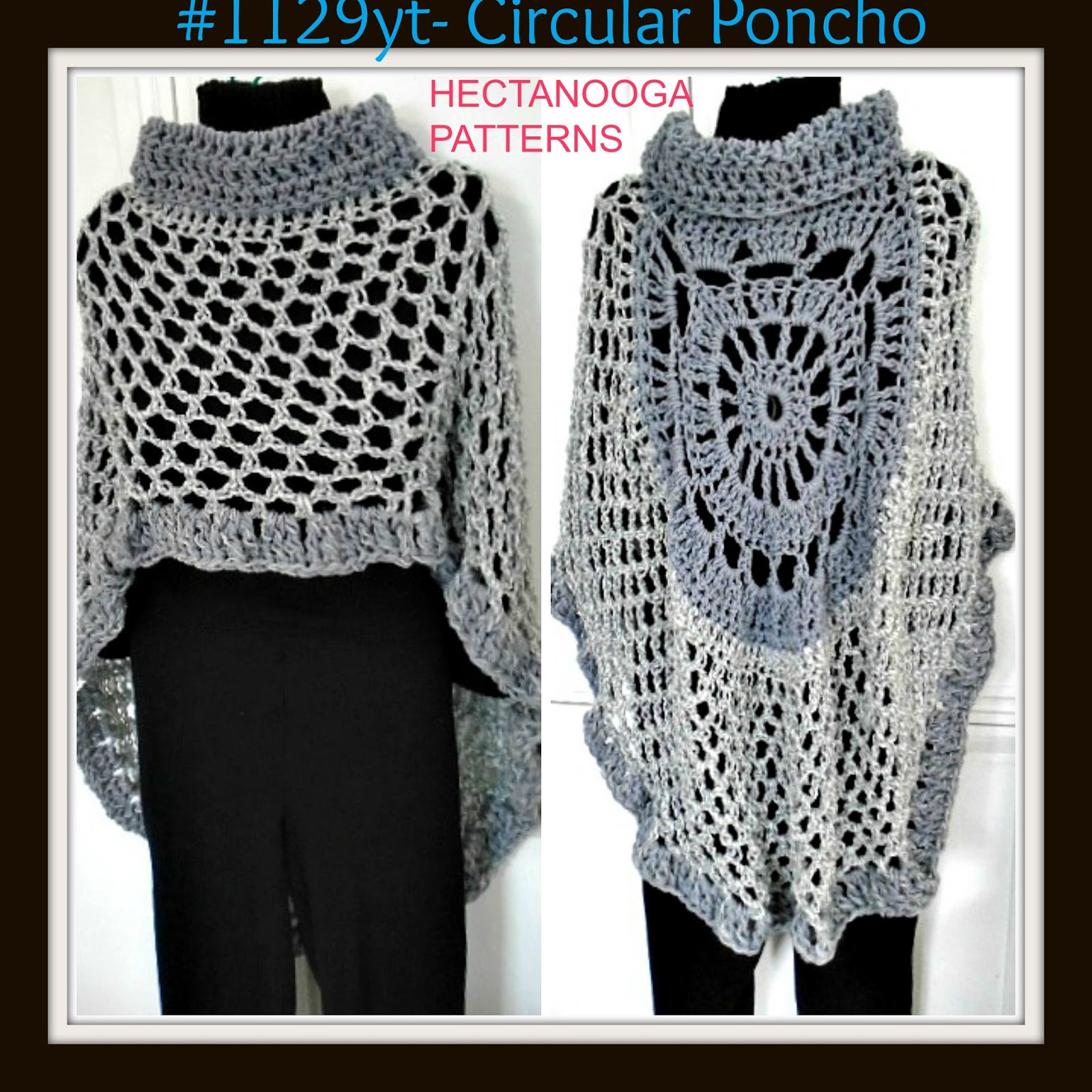 HECTANOOGA PATTERNS: FREE crochet PATTERN - ASYMMETRICAL circular ...