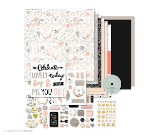 Charlotte Workshops Your Way Scrapbooking Kit, which includes: