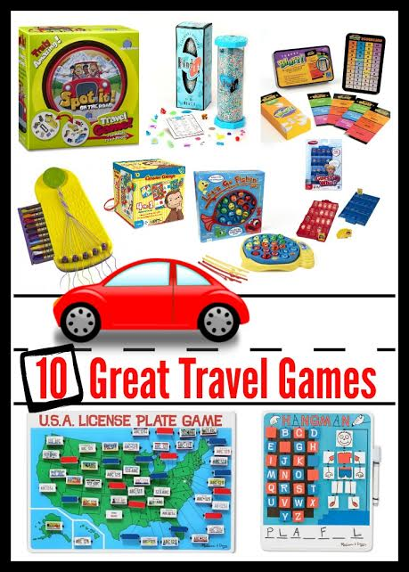 Fun #Travel games that are great for keeping the kids busy on road trips! #FamilyTravel