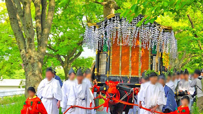 人文研究見聞録:賀茂神社の葵祭(賀茂祭) [京都府]